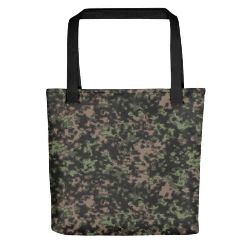 german WWII rauchtarn spring camouflage Tote bag