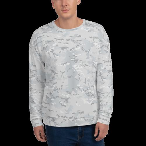 Multicamo arctic camouflage Unisex Tank Top Unisex Sweatshirt