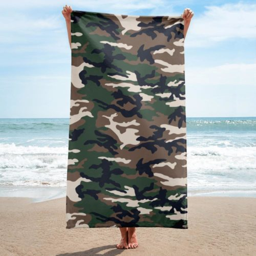 French Style ERDL beach Towel