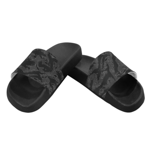 Tiger stripe night Men's Slide Sandals