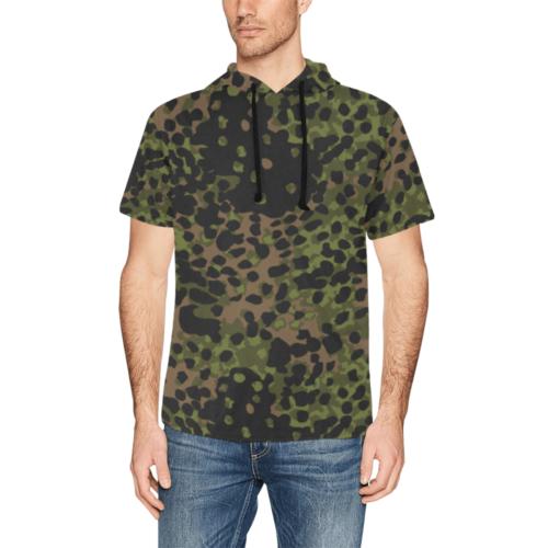 platanen summer Short Sleeve Hoodie for Men