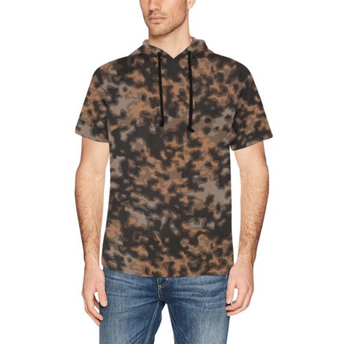 rauchtarn autumn Short Sleeve Hoodie for Men