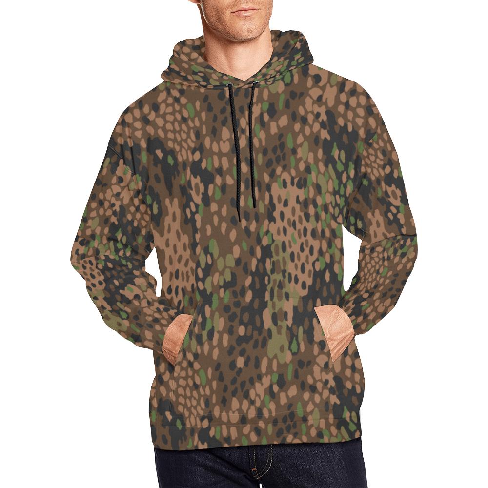 pea dot 44 camouflage hoodie