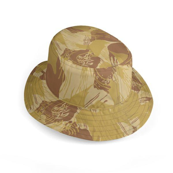 canvas wide rhodesian reversible bucket hat 04
