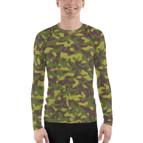 Finnish M62 2nd Pattern Camouflage Men's Rash Guard
