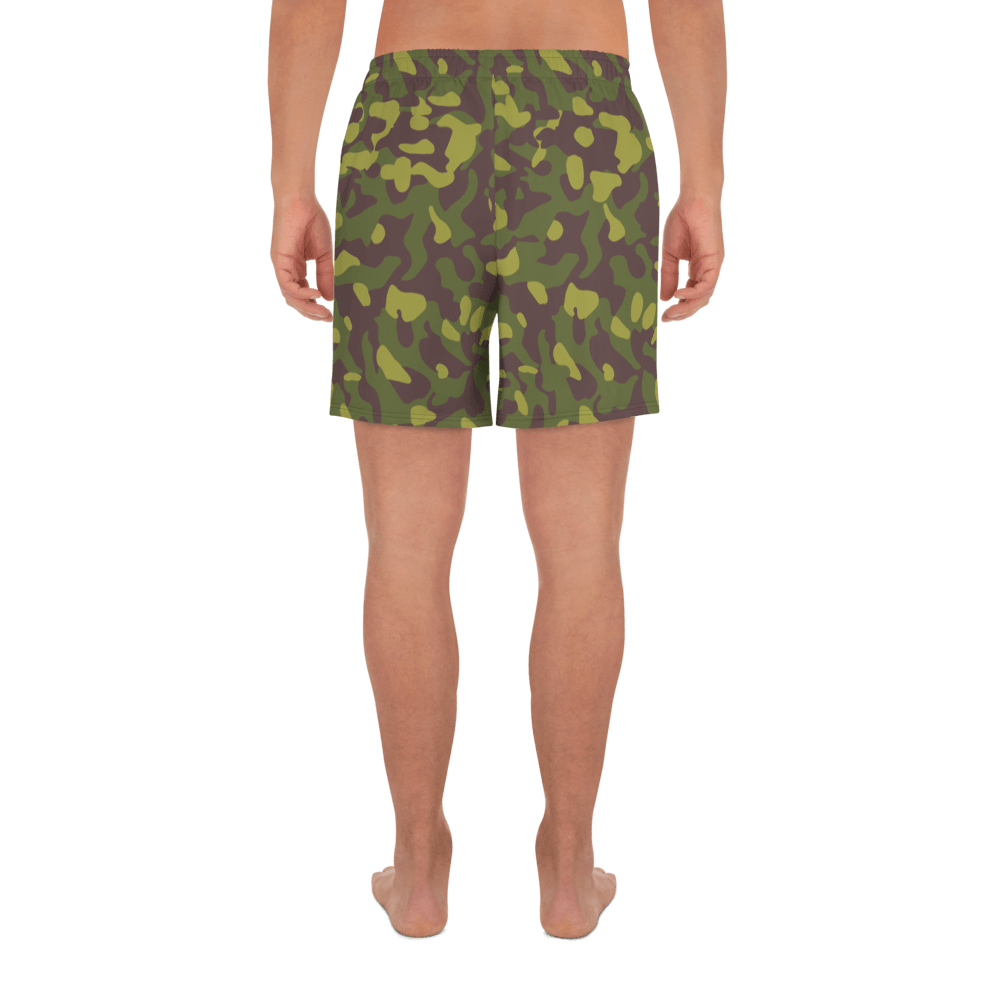 Finnish M62 2nd Pattern Camouflage Men's Athletic Long Shorts