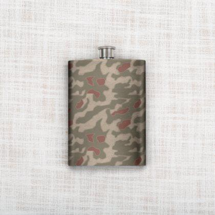 German WWII Camouflages Hip Flask
