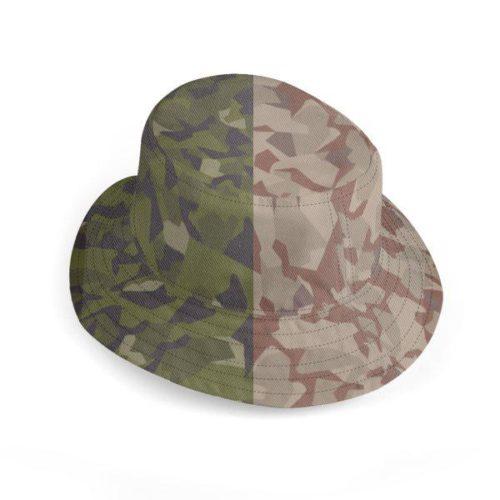 UK Deluxe Reversible Bucket Hat Swedish Camouflages