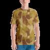 Rhodesian Brushstroke experimental Desert Camouflage Men's T-shirt