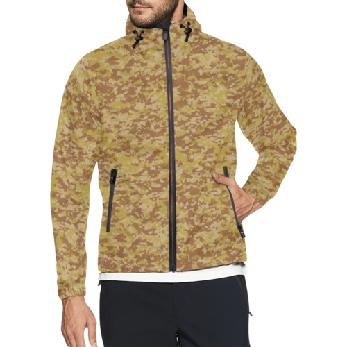 Fictional Rhodesian Digital Desert Camo Windbreaker