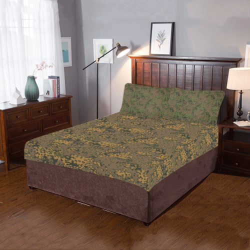 Germany WWII Eichenlaub autumn/summer 3-Piece Bedding Set