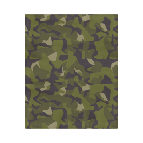 "Swedish M90 Woodland Camouflage Duvet Cover 86""x70"""