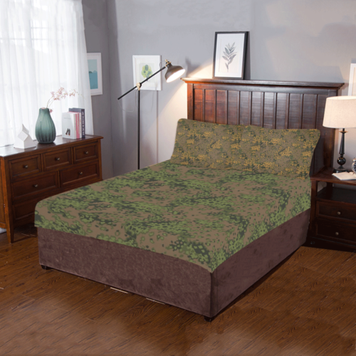 German WWII Eichenlaub summer/ autumn Fall 3-Piece Bedding Set