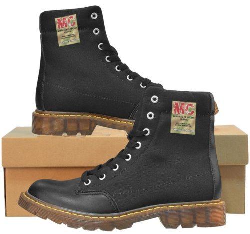 Apache Round Toe Oxford nylon Martin Boots