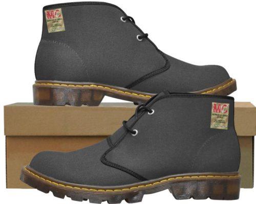 Martin Nylon Canvas Chucka Half Boots