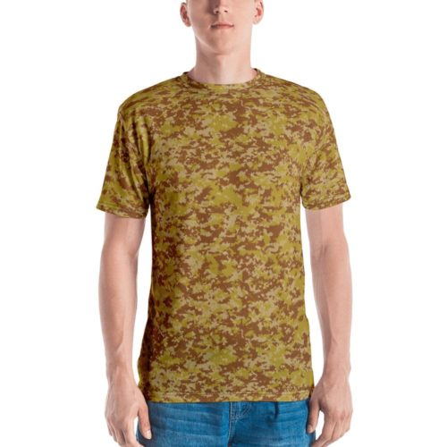 Fictional Rhodesian Desert Digital Camouflage Men's T-shirt