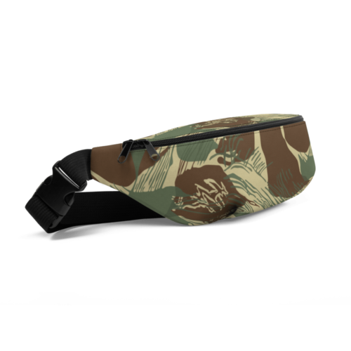 Rhodesian Brushstrokes Camouflage V2 Fanny Pack