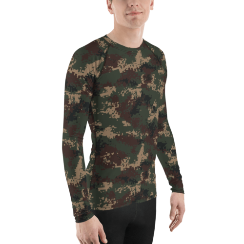 Chinese PLA M07 Hunter Camouflage Men's Rash Guard
