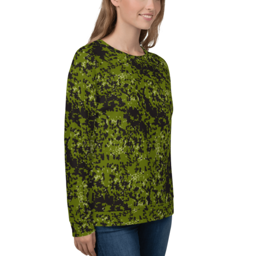 danish M84 woods camouflage Unisex Sweatshirt