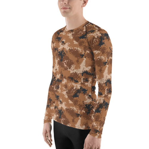 Chinese PLA M07 Arid Camouflage Men's Rash Guard