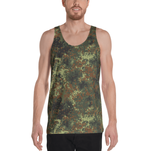 German Flecktarn Unisex Tank Top