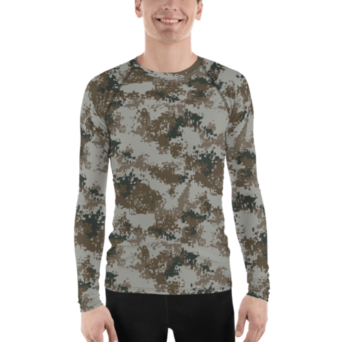 Chinese PLA M07 Urban Camouflage Men's Rash Guard