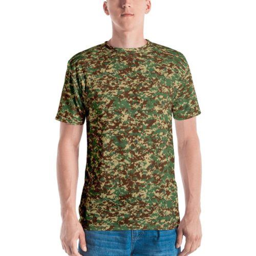 Fictional Rhodesian Digital Camouflage Men's T-shirt