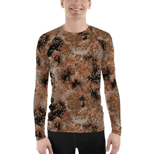 Chinese PLA Type 03 PRP Tibet Variant Camouflage Men's Rash Guard