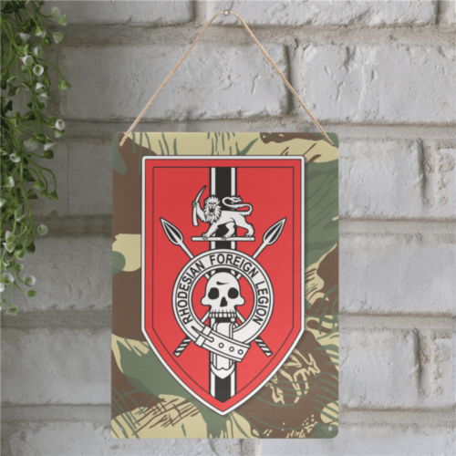 "Rhodesian Foreign legion Metal Tin Sign 12""x16"""