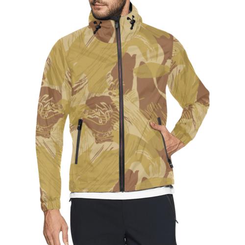 Rhodesian experimental desert camouflage All Over Print Windbreaker for Men (Model H23)