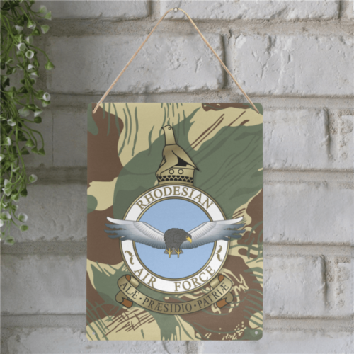 "Rhodesian Airforce Metal Tin Sign 12""x16"""