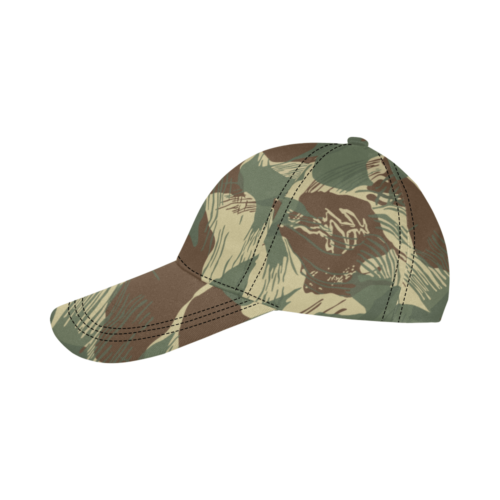 Rhodesian Brushstrokes v2 Dad Cap type C 6 Panels