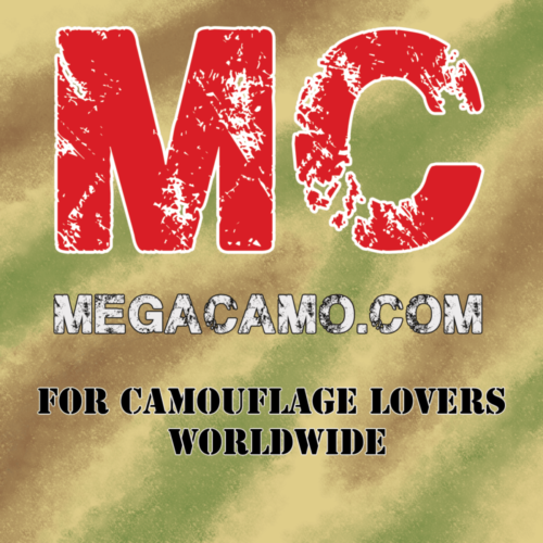 logo megacamo 500x500 - Japanese JSDF Winter Jietai Camouflage Unisex Poly-Cotton with Fleece Inside Hoodie